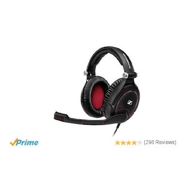 Amazon.com: Sennheiser GAME ZERO PC Gaming Headphone - Black: Electronics