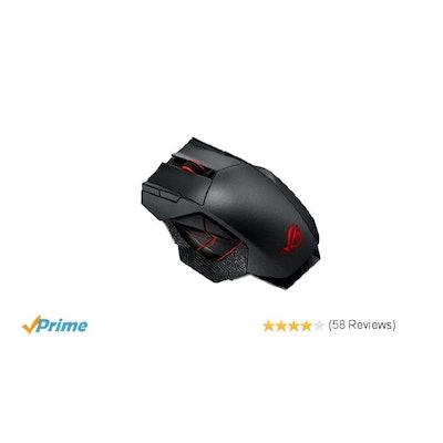 Amazon.com: ASUS ROG Spatha RGB Wireless/Wired Laser Gaming Mouse (ROG Spatha Ga