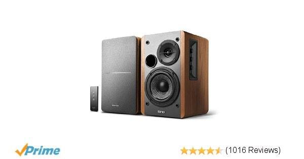 Amazon.com: Edifier R1280T Powered Bookshelf Speakers - 2.0 Active Near Field Mo