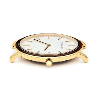Ebony / Gold Minimalist – Original Grain Watches