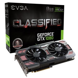 EVGA - Products - EVGA GeForce GTX 1080 CLASSIFIED GAMING ACX 3.0 - 08G-P4-63