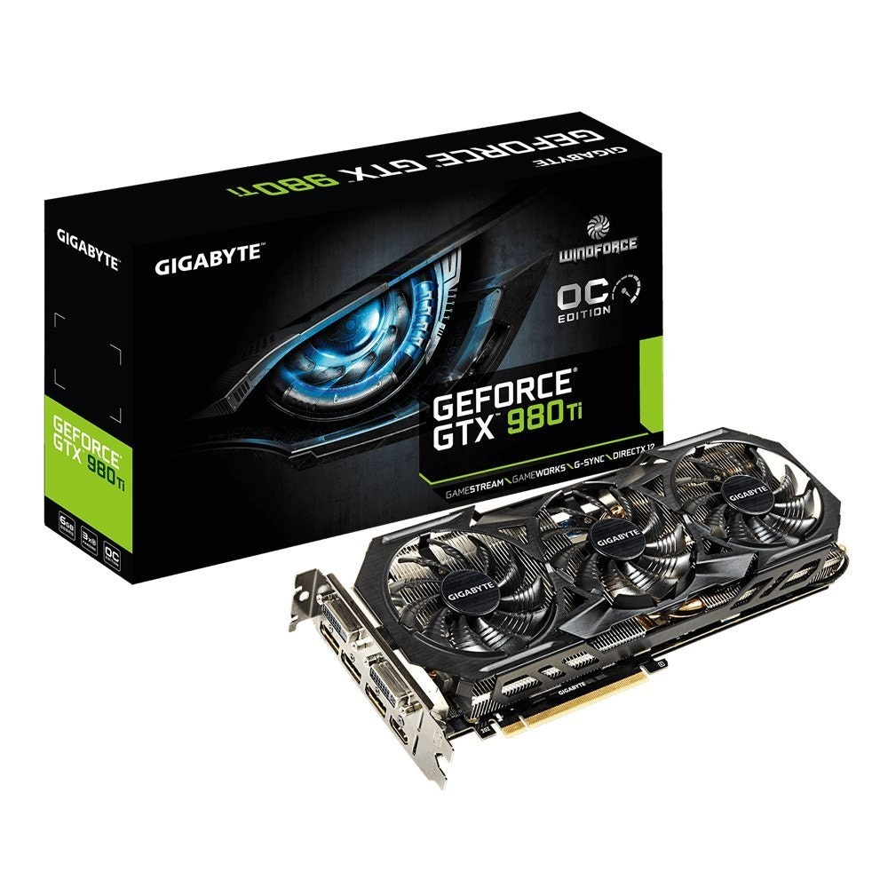 Gigabye GTX 980ti Windforce 3x OC