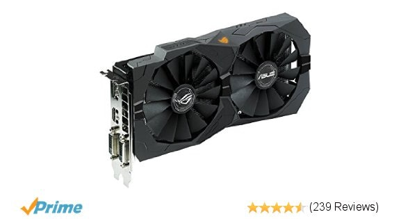 Amazon.com: ASUS ROG STRIX Radeon Rx 470 4GB OC Edition AMD Graphics Card with D