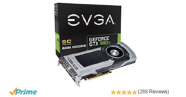 Nvidia GeForce 980ti superclocked edition