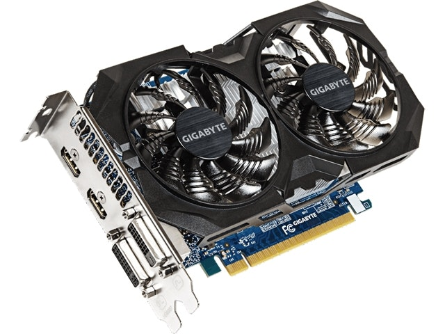 GIGABYTE  GTX 750 Ti 2GB WINDFORCE 2X OC EDITION