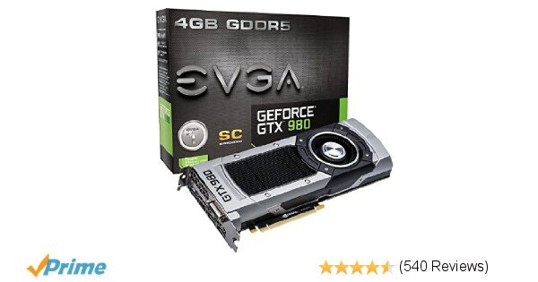 Nvidia GeForce GTX 980 superclocked edition