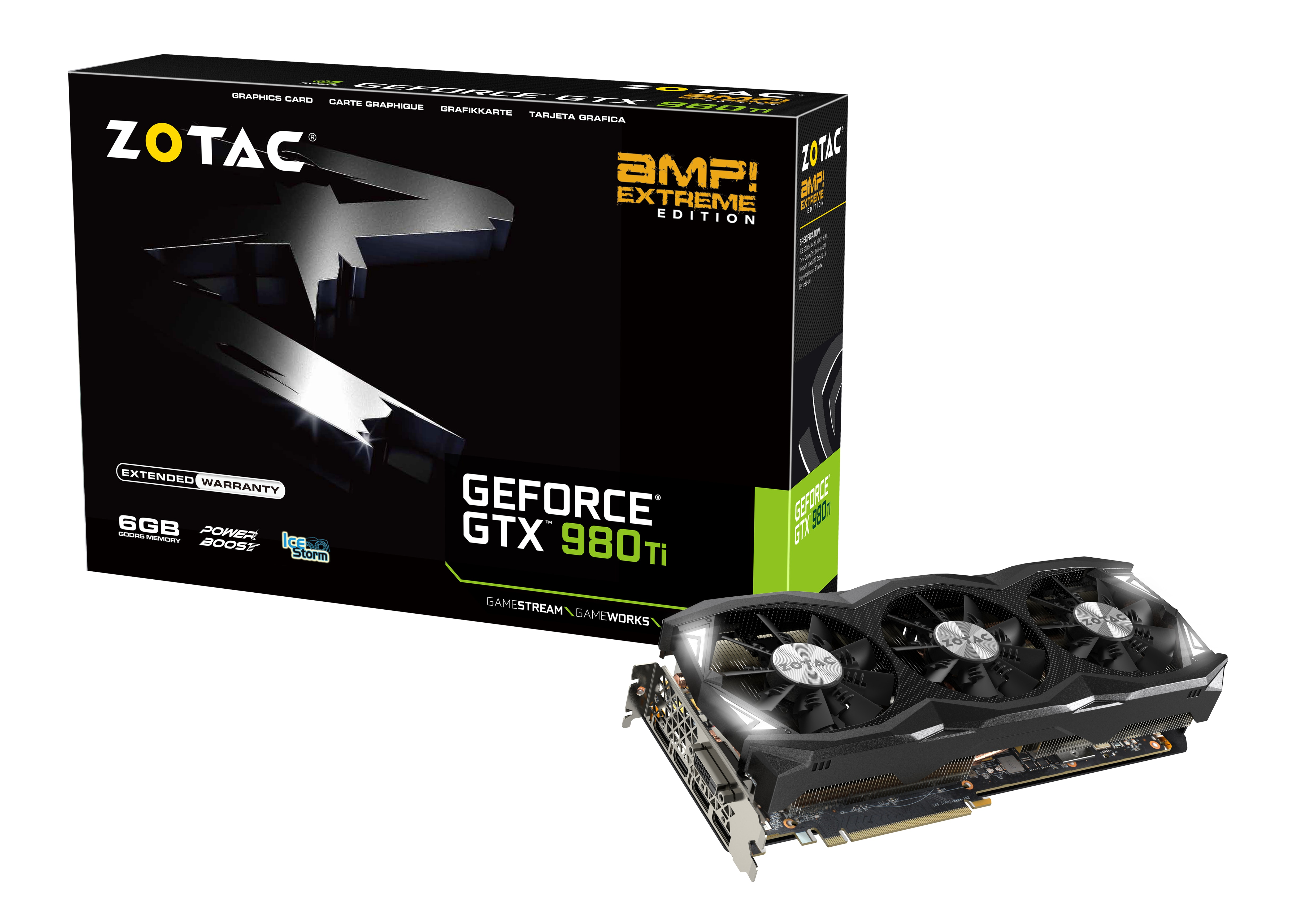 GTX 980 Ti AMP! Extreme   ZOTAC