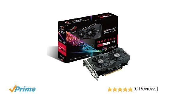 Amazon.com: ASUS ROG STRIX Radeon RX 460 4GB OC Edition AMD Gaming Graphics Card