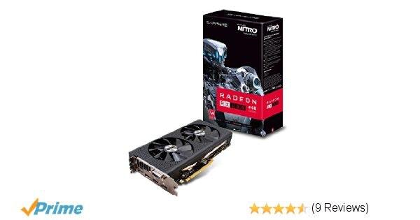 Amazon.com: Sapphire NITRO+ RadeonTM RX 480 4GB GDDR5 256 bit Memory Bus PCI-Exp
