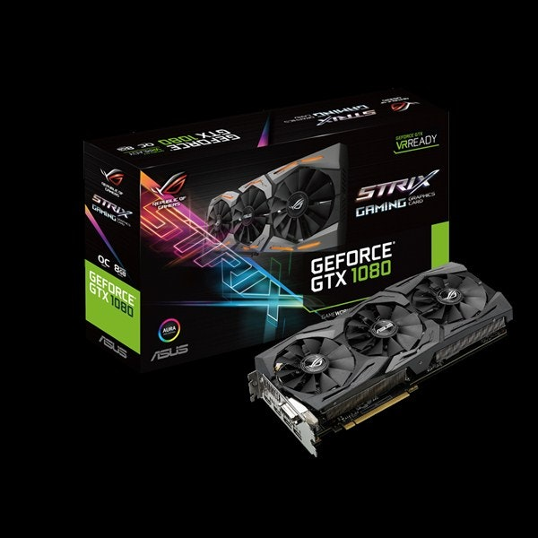 ROG STRIX-GTX1080-O8G-GAMING | Graphics Cards | ASUS Global