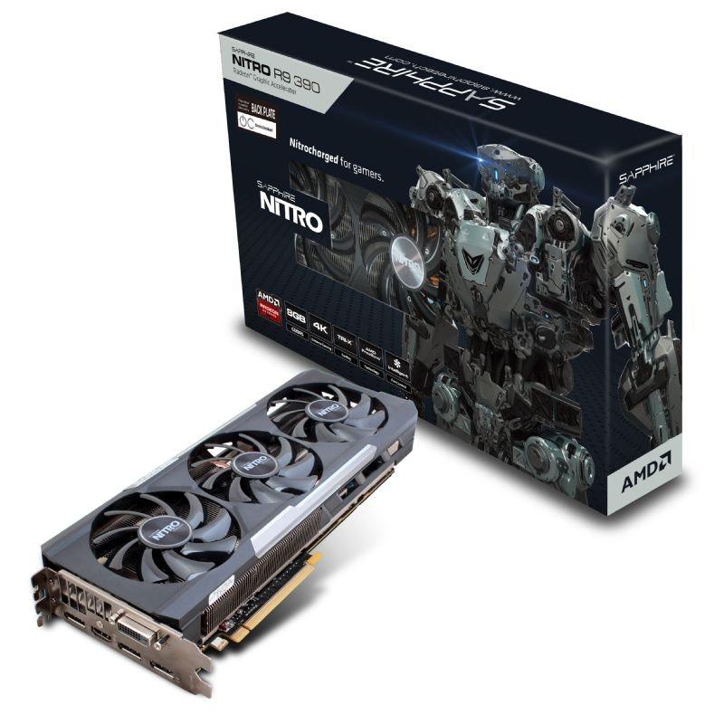 SAPPHIRE NITRO Radeon™ R9 390 8GB