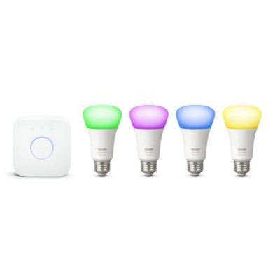 Hue White and color ambiance Starter kit E26 046677471965 | Philips