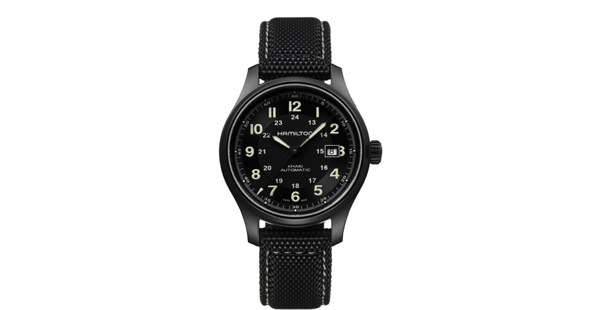 Khaki Field - Khaki Titanium  Auto | Hamilton watch