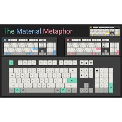 The Material Metaphor (dye-sub, PBT, DSA) > Pimp My Keyboard