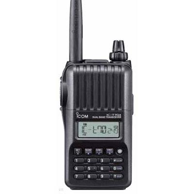 ICOM IC-T70A HD Dual Band FM Transceiver