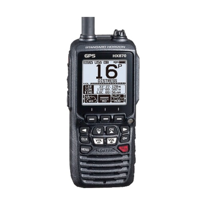 Standard Horizon HX870E E2O (Easy to Operate) DSC handheld