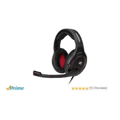 Sennheiser G4ME ONE Open, Acoustic PC Gaming Headset, Black: Amazon.ca: Computer