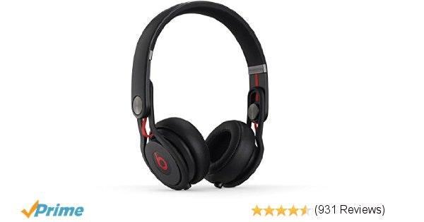 Amazon.com: Beats Mixr On-Ear Headphone - Black: Home Audio & Theater
