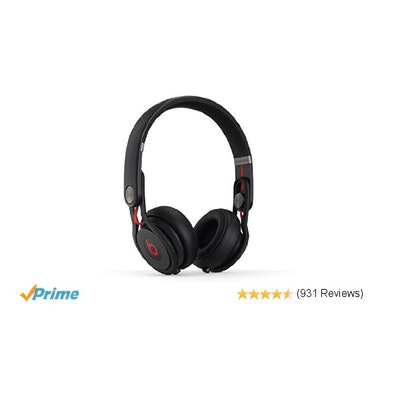 Amazon.com: Beats Mixr On-Ear Headphone - Black: Home Audio & Theater