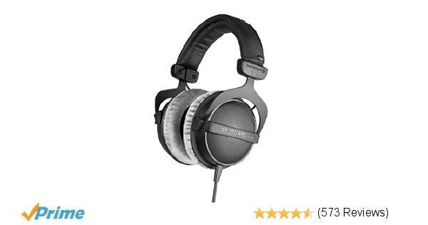 Amazon.com: beyerdynamic DT 770 Pro 80 ohm Studio Headphones: Musical Instrument