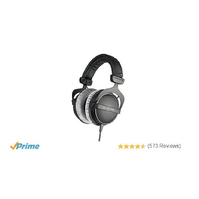 Amazon.com: beyerdynamic DT 770 Pro 80 ohm Studio Headphones: Musical Instrument