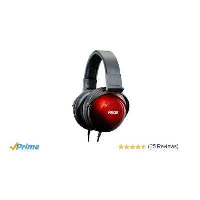 Amazon.com: Fostex USA 25-Ohms TH900 Premium Stereo Headphones with Japanese Lac