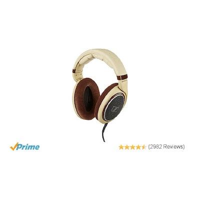 Amazon.com: Sennheiser HD 598 Over-Ear Headphones - Ivory: Home Audio & Theater