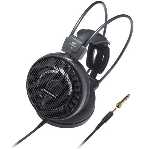 Audio Technica ATH-AD700X Audiophile Open-air On-Ear Hodetelefoner, Sort - Elekt