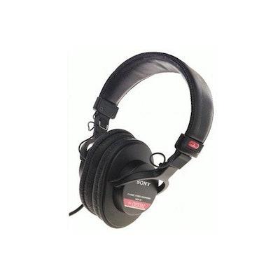 SONY MDR-V6 3.5mm/ 6.3mm Connector Circumaural Studio Monitor Series Headphone-N