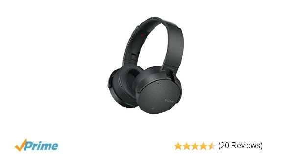 Sony XB950N1 Noise Canceling Extra Bass Wireless Headphones