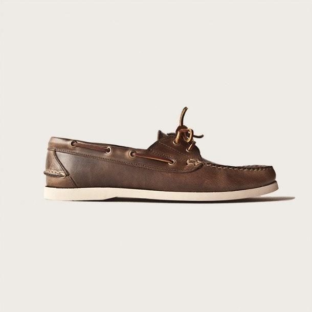 Oak Street Bootmakers | Natural Boat Shoe - Footwear