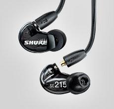 SE215 Sound Isolating™ Earphones | Shure Americas