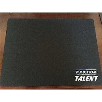 PureTrak Talent Black Professional Gaming Mouse Pad