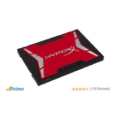 Kingston HyperX Savage 480GB SSD SATA 3 2.5 inch