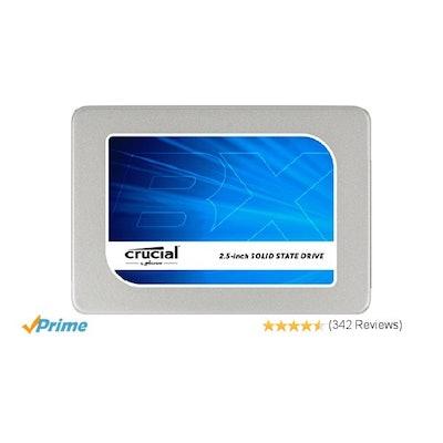 Crucial BX200 240GB SATA 2.5 Inch Internal SSD - CT240