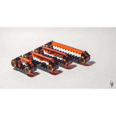Hydra Cable Combs Orange