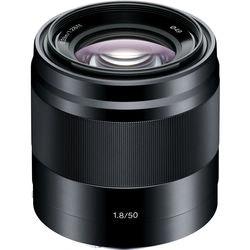 Sony  E 50mm f/1.8 OSS Lens (Black) SEL50F18/B B&H Photo Video