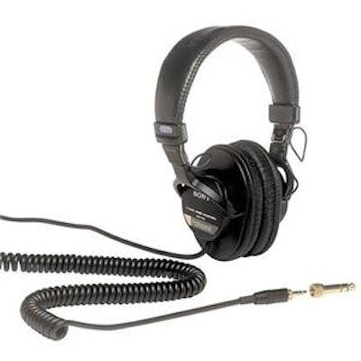 Sony MDR-7506 Professional Folding Headphones