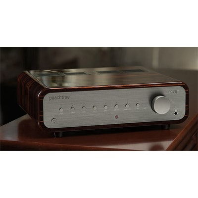 Amplifier with DAC - nova150 Integrated Amplifier | Peachtree Audio