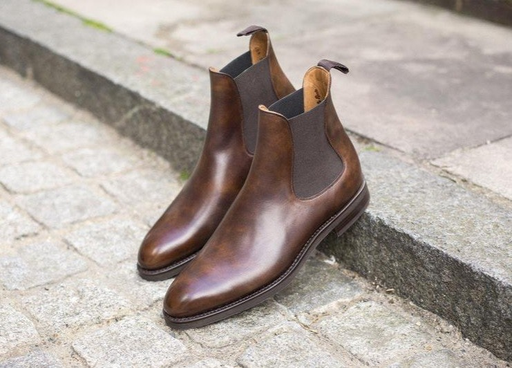 Alki - Copper Museum Calf - J.FitzPatrick Footwear