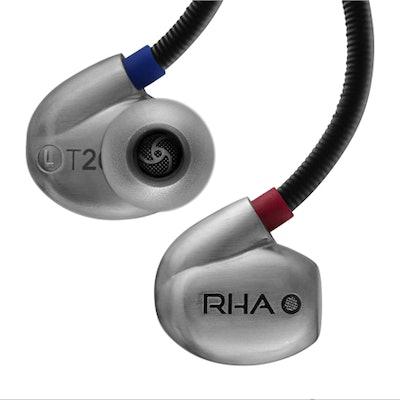 RHA - T20: High fidelity, noise isolating, DualCoil™ in-ear headphone