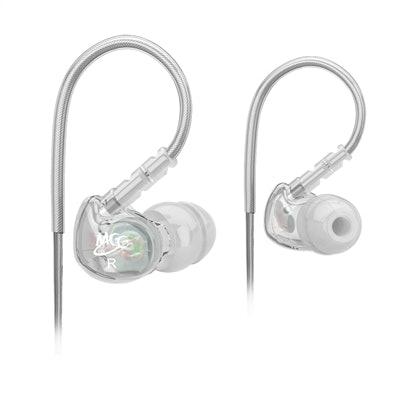 MEElectronics Sport-Fi M6 Memory Wire In-Ear Earphones (Clear)MEE audio | Headph