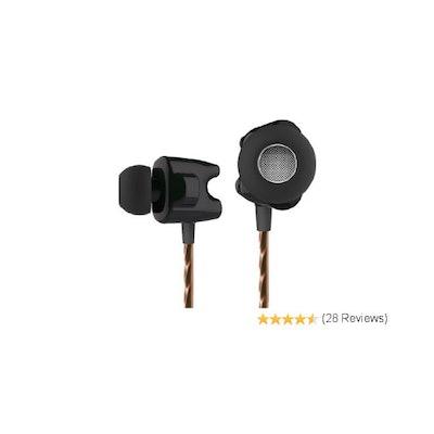 TTPOD T1-E High Definition Dual Dynamic Professional In-ear Earphone