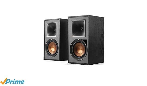Klipsch R-51PM Powered Flexible Bluetooth Speaker Set of 2 Black: Ho