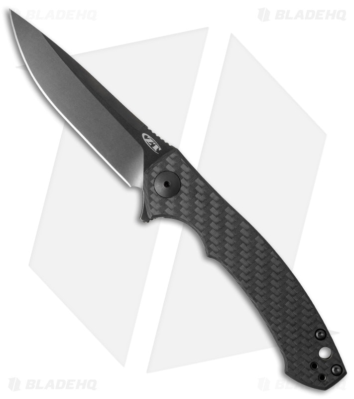 Zero Tolerance Flipper Knife - Carbon Fiber | Free Shipping
