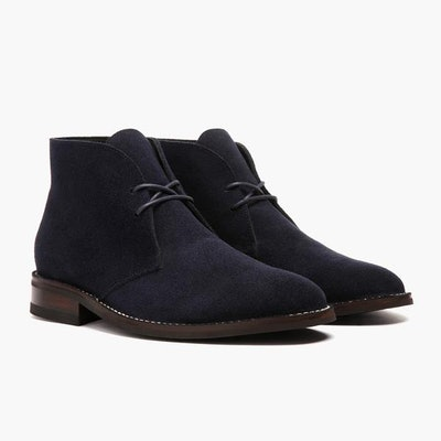 Midnight Suede Scout Chukka | Thursday Boot Company                     Arr
