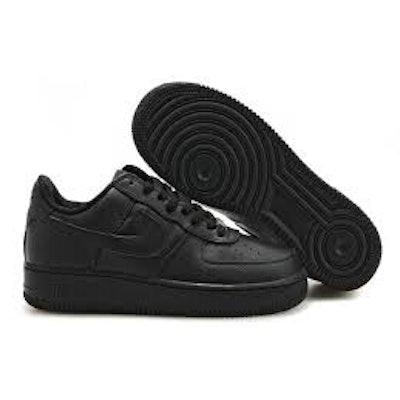 Nike Air force 1 low top black
