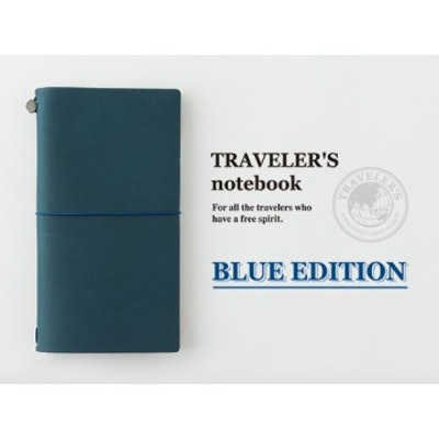 TRAVELER'S Notebook // BLUE Limited Edition