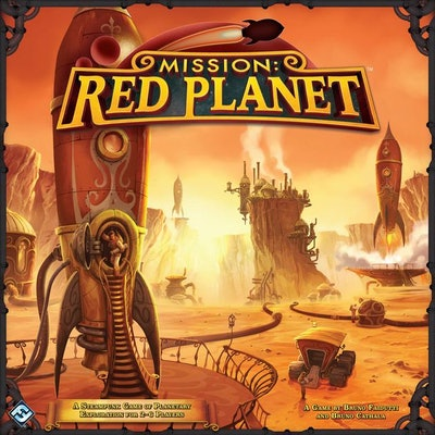 Mission: Red Planet (Second Edition)   Board Game