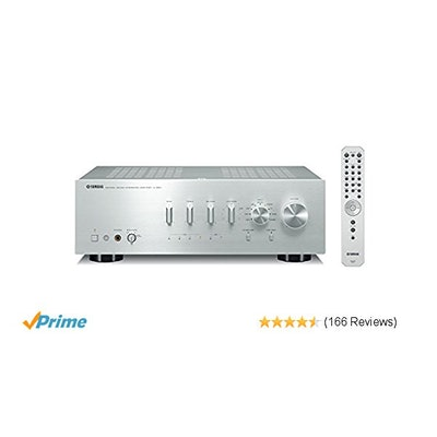 Amazon.com: Yamaha A-S801SL Natural Sound Integrated Stereo Amplifier (Silver):